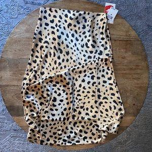 NWT women's satin skirt